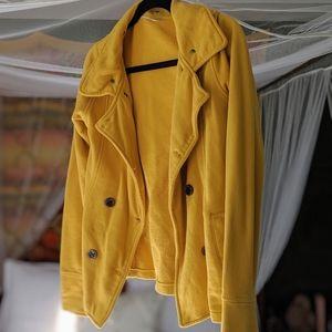 Jackets & Blazers - Yellow Independent Pea Coat